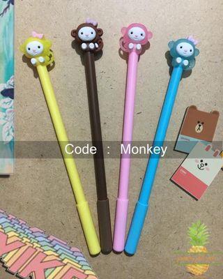 Pulpen Karakter : monkey