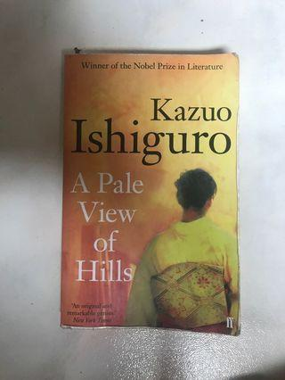 🚚 A Pale View of Hills Kazuo Ishiguro