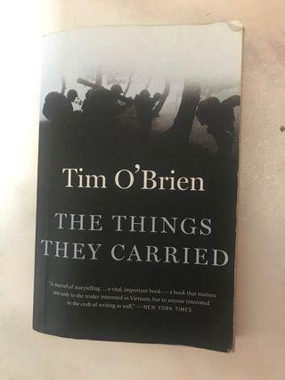 🚚 The Things They Carried Tim O'Brien