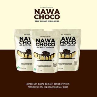 Nawa Choco Keripik Pisang coklat