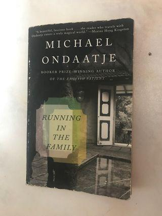 🚚 Michael Ondaatje Running in the Family