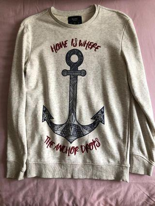 sweater bershka