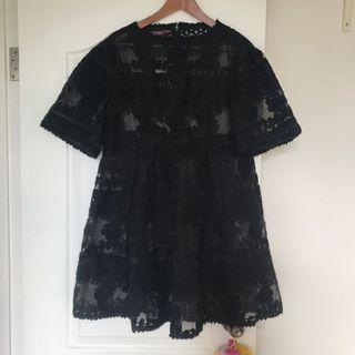 Jessica black lace dress onepiece original 2799
