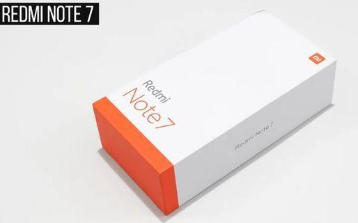 XIaomi Redmi Note 7 🇸🇬 LOCAL SET
