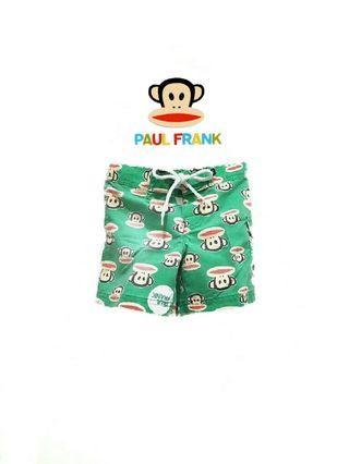 二手新品·專櫃正品*paul frank大嘴猴 滿版大嘴猴男童短褲/海灘褲(3T)~原價1500元喔!