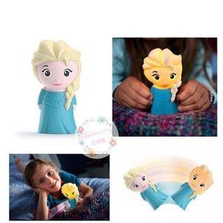 Philips x Disney SoftPal LED Frozen Elsa 迪士尼軟夜燈 $129
