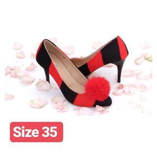 Ittaherl Emmy Red/Black size 35