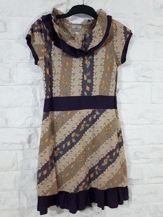 Dress Batik Casual