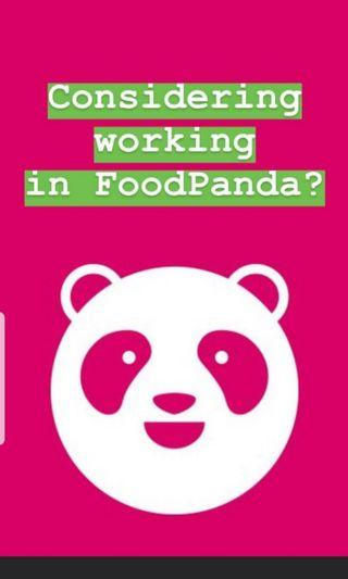 FoodPanda - Job Refferal code