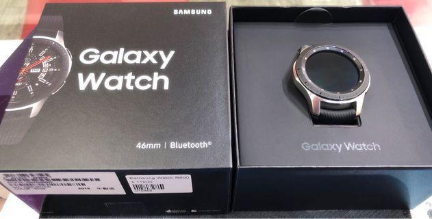 🚚 Samsung Watch 藍牙版 SM-R800 46mm 銀