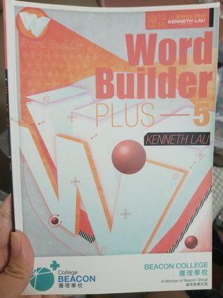 kenneth lau word builder plus 5 遵理 名師 5** 5星星