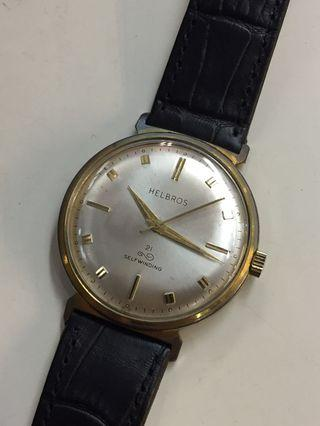 Helbros 21 Jewels Automatic Vintage Watch