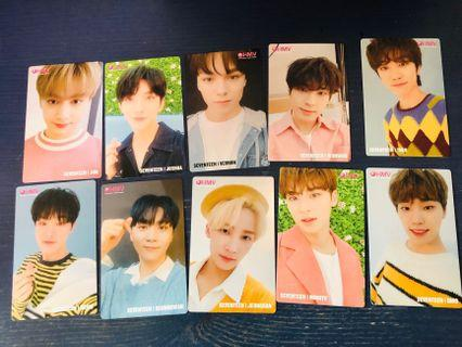 wts seventeen hmv happy ending photocards