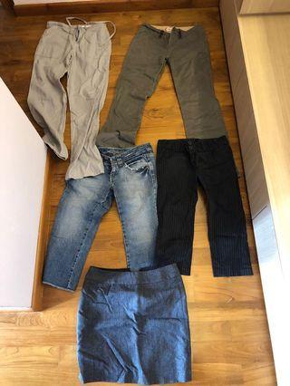 🚚 Pants and skirt