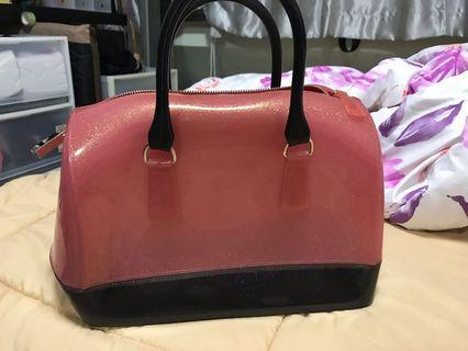 🚚 furla jelly candy bag