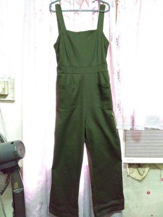 Cotton On Navy Green Jumpsuit/romper