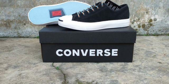 Converse Suede Jack Purcell Black
