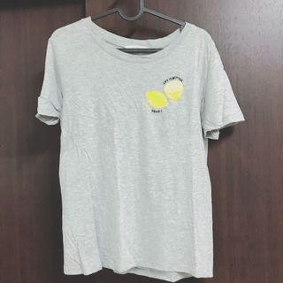 🚚 NET 檸檬刺繡上衣