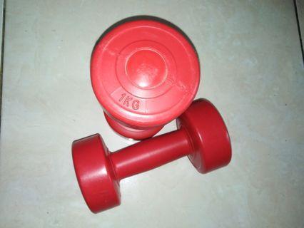 Dumbbell - 1kg each