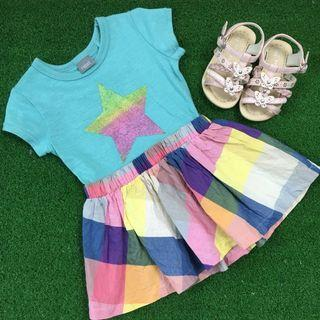 Next Dress and Sandals