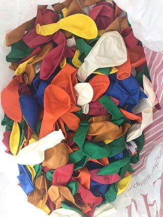 Balloons assorted Color more than 200pcs