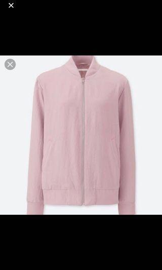 Uniqlo Dusty Pink Jacket #SwapAU