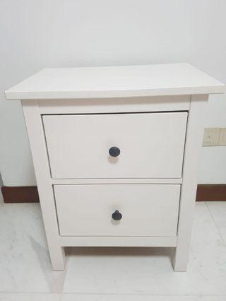 Pristine condition Hemnes bedside table