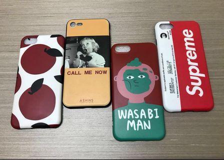 🚚 (4個) iPhone 7/8保護殼
