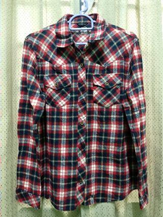 Flannel plaid shirt #gayaraya