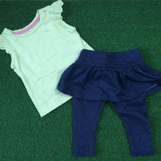Mothercare Top and Skirt Jeggings