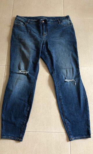 🚚 Plus size old navy jeans
