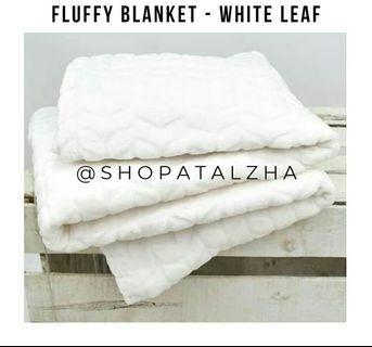 Fluffy Blanket / Selimut Bulu Polos Lembut