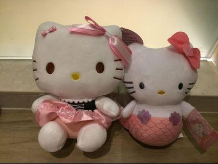 Hello Kitty Plush Toy Set