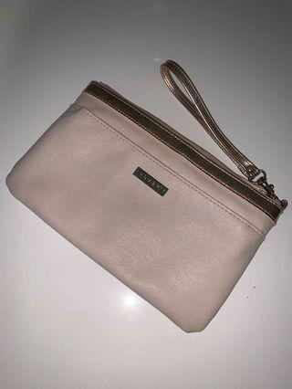 Baby pink/Rose gold pouch