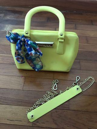 🚚 Yellow Petite Jolie Bag