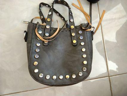 Tas pu leather import bangkok