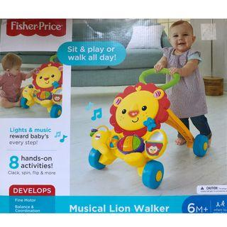 🚚 Fisher Price - Musical Lion Walker