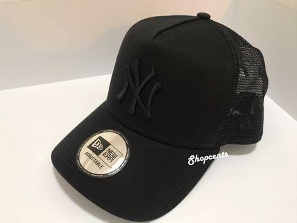 🖤🖤全新New Era 全黑NY Cap帽