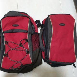 Samsonite 2-way backpack travel bag