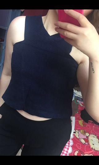 Nyla blue top