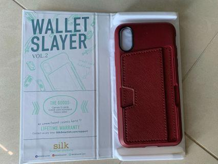 🚚 Wallet slayer case for IPhone XS