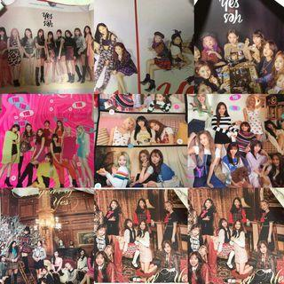 $1 TWICE POSTERS SALE CLEARANCE CHEAP YOY FANCY TYOY // the year of yes //yes or yes