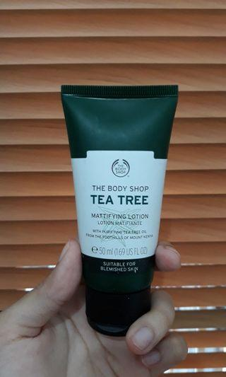 The Body Shop Tea Tree Mattifying Lotion [preloved]