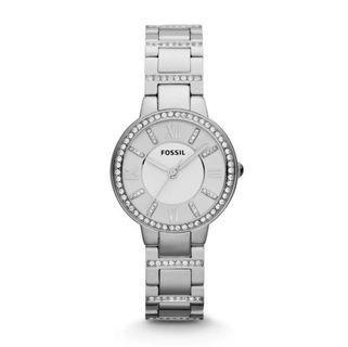 Fossil Ladies Virginia Stainless Steel Watch