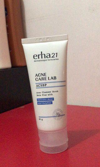Erha acne facial wash