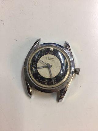 Zetol 15 Jewels Winding Vintage Watch