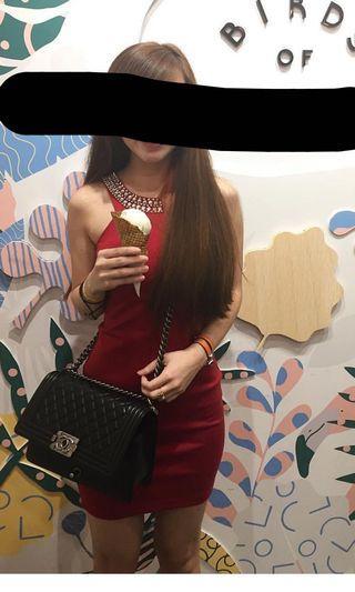 Love bonito Diamond Bodycon Dress
