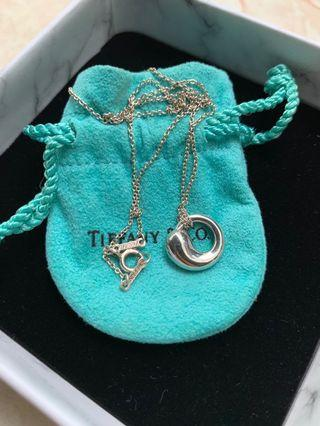 Tiffany eternal circle necklace