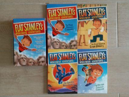 Flat Stanley's Worldwide Adventures 1 to 4