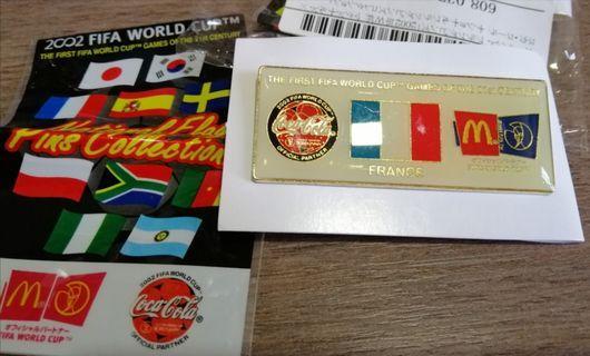 Fifa 2002 Mcdonalds coca cola pin france